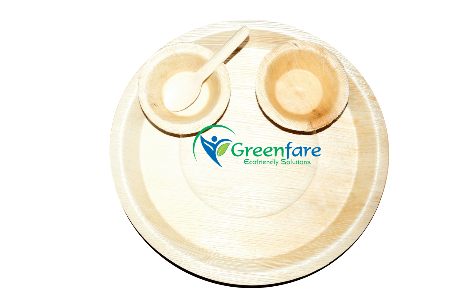 Greenfare Ecofriendly Areca Leaf Disposable Plates and bowls